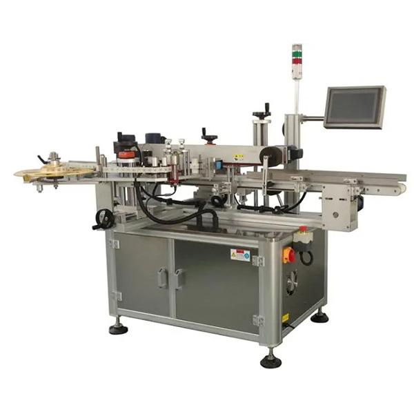 Máquina automática de etiquetagem de cantos de papelão - Máquina etiquetadora de papelão de um ou dois lados