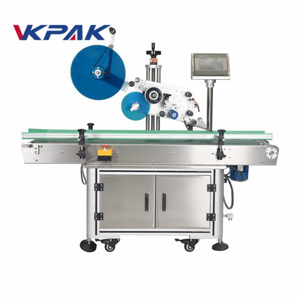 Máquinas automáticas de rotulagem de superfícies planas para caixas de papelão