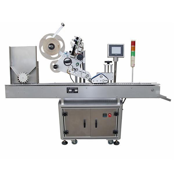 Máquina de etiquetagem farmacêutica de seringa horizontal totalmente automática